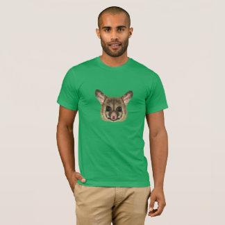Illustrated portrait of Common brushtail possum. T-Shirt