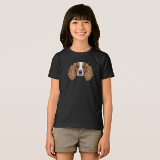 Illustrated Portrait of English Springer Spaniel. T-Shirt