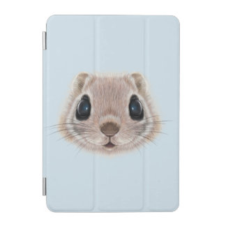 Illustrated portrait of Flying squirrel. iPad Mini Cover