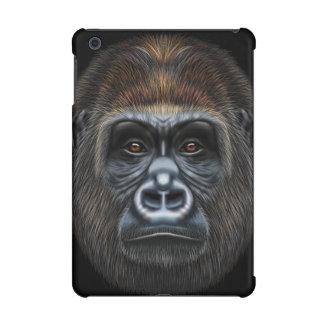Illustrated portrait of Gorilla male. iPad Mini Retina Case