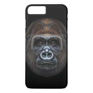 Illustrated portrait of Gorilla male. iPhone 8 Plus/7 Plus Case
