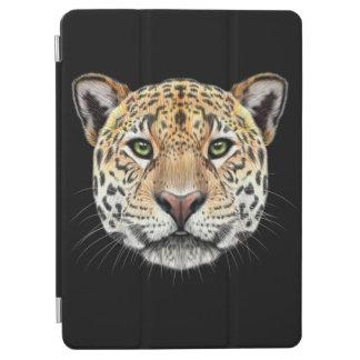 Illustrated portrait of Jaguar. iPad Air Cover