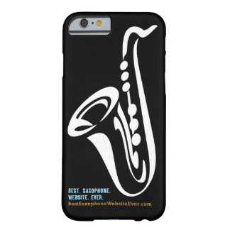 Illustrated Saxophone iPhone 6 case Barely There iPhone 6 Case