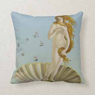 Illustrated Venus Pillow
