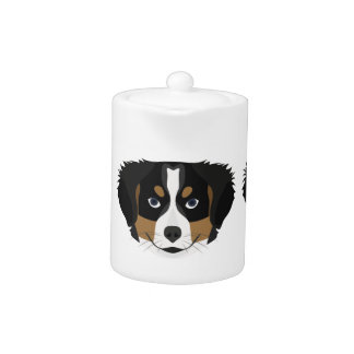 Illustration Bernese Mountain Dog