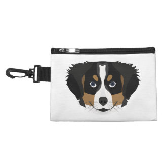 Illustration Bernese Mountain Dog Accessory Bag