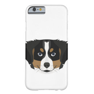 Illustration Bernese Mountain Dog Barely There iPhone 6 Case