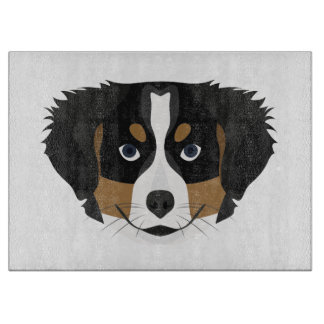 Illustration Bernese Mountain Dog Boards
