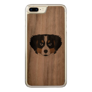 Illustration Bernese Mountain Dog Carved iPhone 8 Plus/7 Plus Case