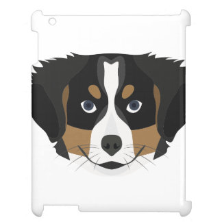 Illustration Bernese Mountain Dog Case For The iPad