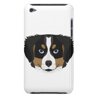 Illustration Bernese Mountain Dog Case-Mate iPod Touch Case