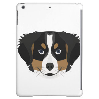 Illustration Bernese Mountain Dog Cover For iPad Air