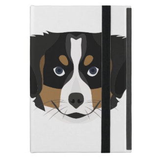 Illustration Bernese Mountain Dog Cover For iPad Mini