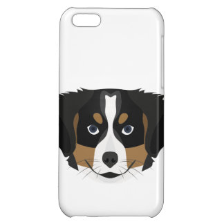 Illustration Bernese Mountain Dog Cover For iPhone 5C
