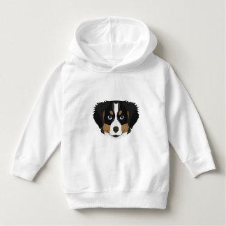 Illustration Bernese Mountain Dog Hoodie