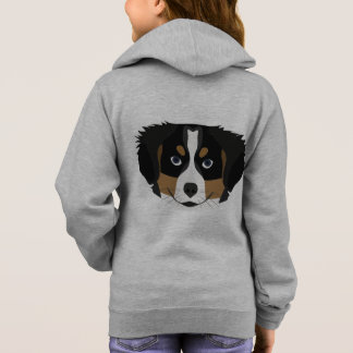 Illustration Bernese Mountain Dog Hoodie