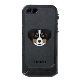 Illustration Bernese Mountain Dog Incipio ATLAS ID™ iPhone 5 Case