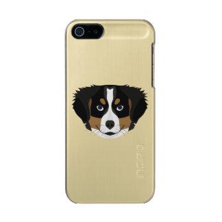 Illustration Bernese Mountain Dog Incipio Feather® Shine iPhone 5 Case