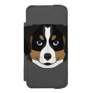 Illustration Bernese Mountain Dog Incipio Watson™ iPhone 5 Wallet Case