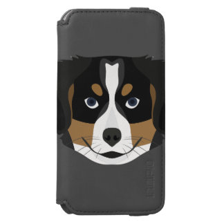 Illustration Bernese Mountain Dog Incipio Watson™ iPhone 6 Wallet Case