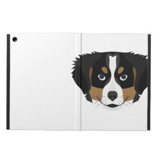 Illustration Bernese Mountain Dog iPad Air Case