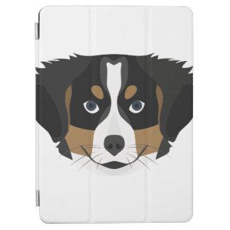 Illustration Bernese Mountain Dog iPad Air Cover