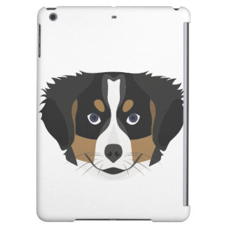 Illustration Bernese Mountain Dog iPad Air Covers