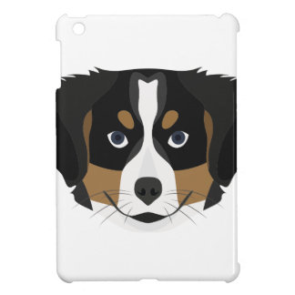 Illustration Bernese Mountain Dog iPad Mini Case