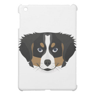 Illustration Bernese Mountain Dog iPad Mini Cases