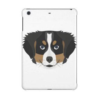 Illustration Bernese Mountain Dog iPad Mini Cover