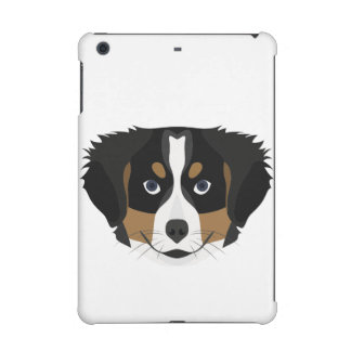 Illustration Bernese Mountain Dog iPad Mini Retina Case