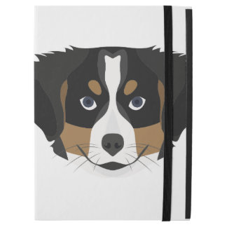 "Illustration Bernese Mountain Dog iPad Pro 12.9"" Case"