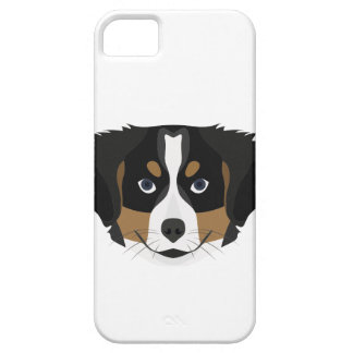 Illustration Bernese Mountain Dog iPhone 5 Cover