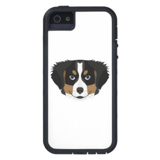 Illustration Bernese Mountain Dog iPhone 5 Covers