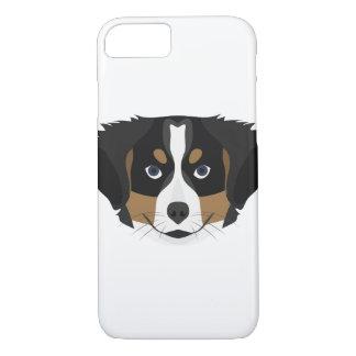 Illustration Bernese Mountain Dog iPhone 8/7 Case