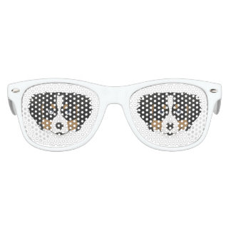 Illustration Bernese Mountain Dog Kids Sunglasses