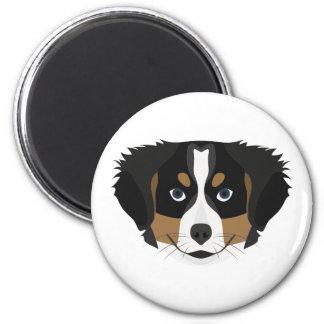 Illustration Bernese Mountain Dog Magnet