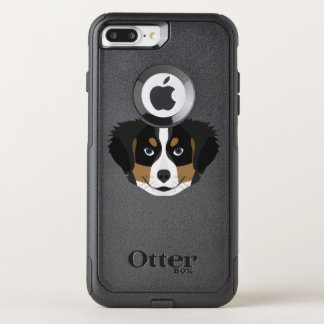 Illustration Bernese Mountain Dog OtterBox Commuter iPhone 8 Plus/7 Plus Case