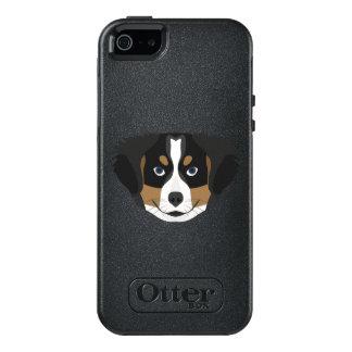 Illustration Bernese Mountain Dog OtterBox iPhone 5/5s/SE Case