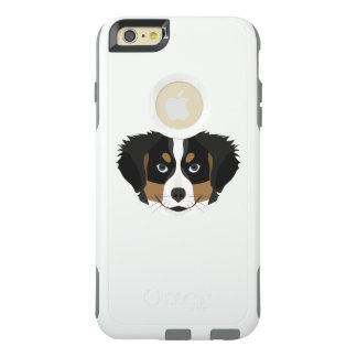 Illustration Bernese Mountain Dog OtterBox iPhone 6/6s Plus Case