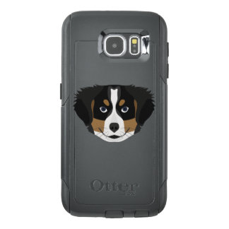 Illustration Bernese Mountain Dog OtterBox Samsung Galaxy S6 Case