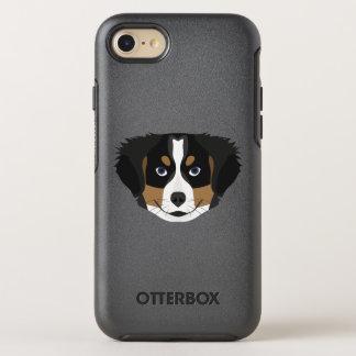 Illustration Bernese Mountain Dog OtterBox Symmetry iPhone 8/7 Case