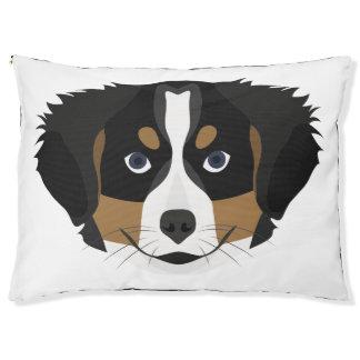 Illustration Bernese Mountain Dog Pet Bed