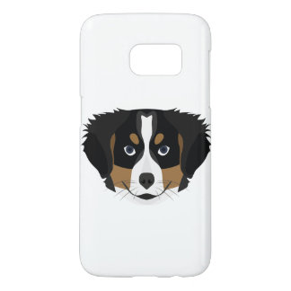Illustration Bernese Mountain Dog Samsung Galaxy S7 Case