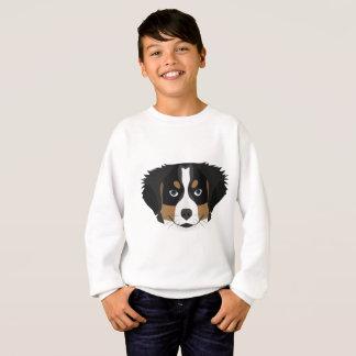 Illustration Bernese Mountain Dog Sweatshirt