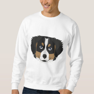 Illustration Bernese Mountain Dog Sweatshirt