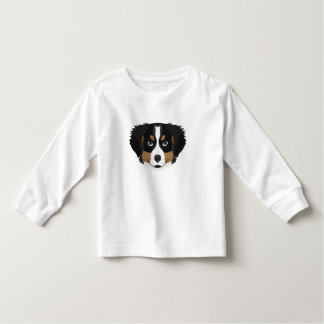 Illustration Bernese Mountain Dog Toddler T-shirt