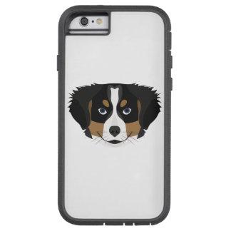 Illustration Bernese Mountain Dog Tough Xtreme iPhone 6 Case