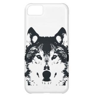 Illustration Black Wolf Case-Mate iPhone Case