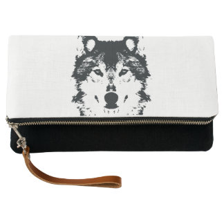 Illustration Black Wolf Clutch